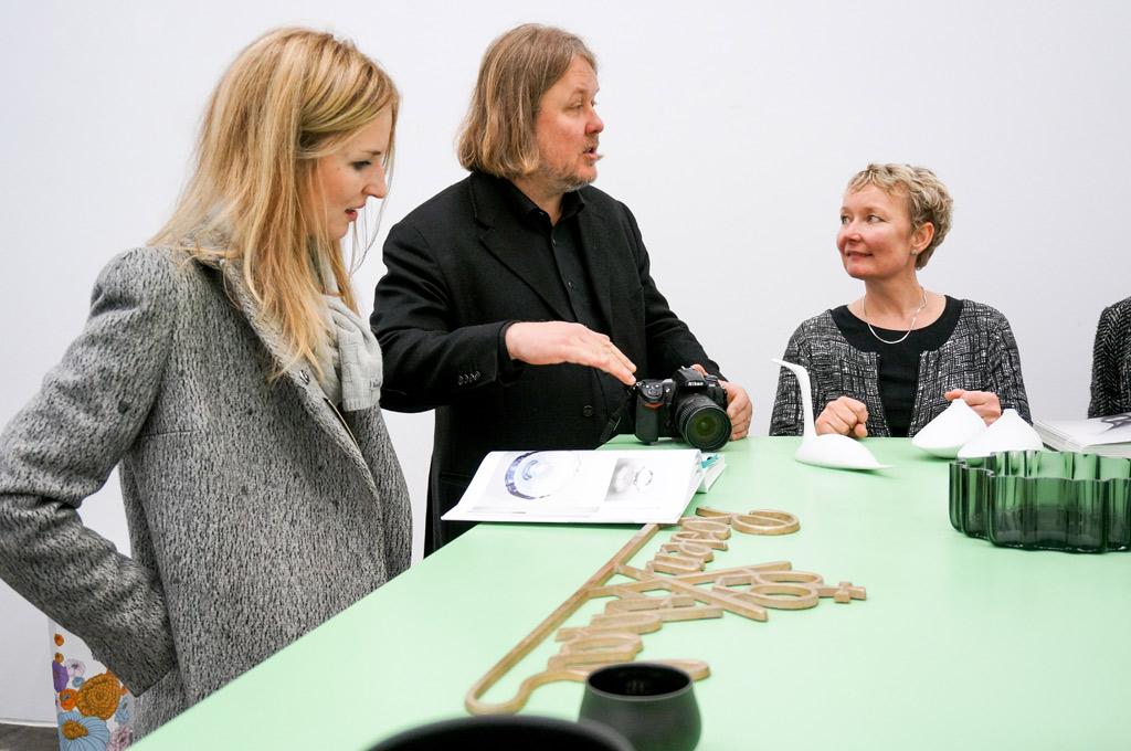VINTAGENCY and Kinettis at Tapio Wirkkala exhibition at Andreas Murkudis